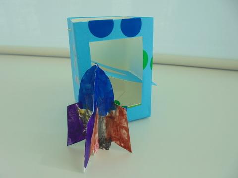 牛乳パックでおもちゃ作り❤_b0228113_1616370.jpg