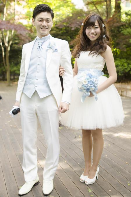新郎新婦様からのメール プリザーブドブーケ、椿山荘様へ ドレスの次に大事なのはブーケ_a0042928_20415573.jpg
