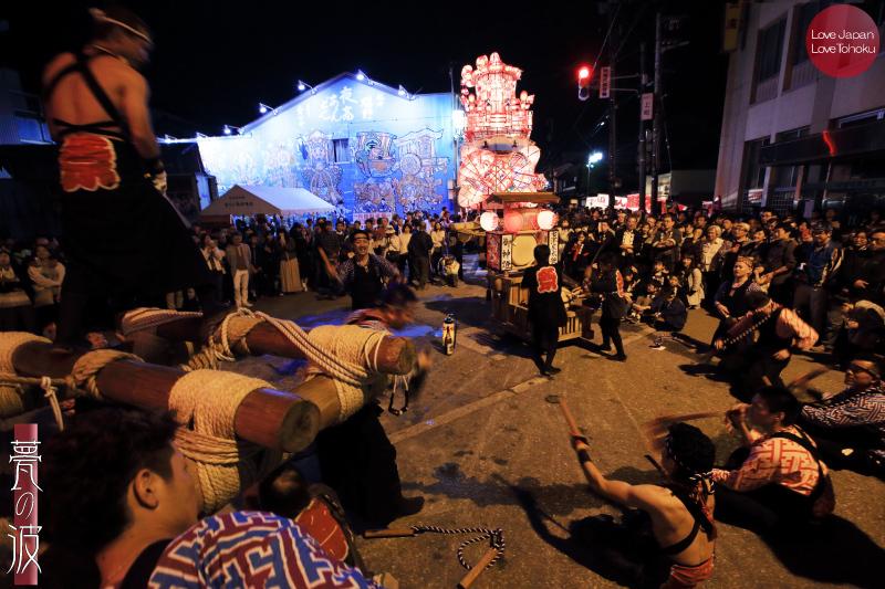 南砺市福野「夜高祭 2015」04 宴_b0157849_20322113.jpg