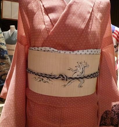 わーと日本橋・竺仙絹紅梅・きもの鶴のコーディネイト。_f0181251_16115167.jpg
