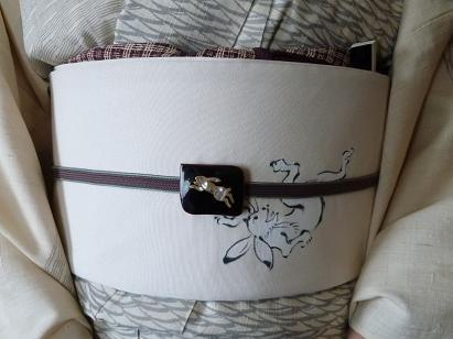 わーと日本橋・竺仙絹紅梅・きもの鶴のコーディネイト。_f0181251_16221165.jpg