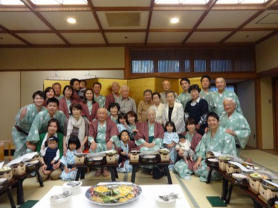 88歳「米寿の祝い」_b0092684_1155913.jpg