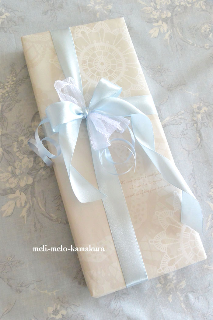 ◆Wrapping*Wedding Sweets♡_f0251032_1113580.jpg