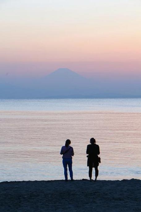 Sunset  at  Akiya beech_d0150720_1938572.jpg