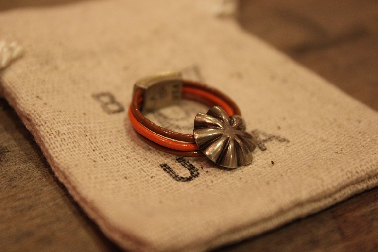 """Button Works \""""NAVAJO CONCHO LEATHER RING & BRACELET\"""" ご紹介_f0191324_10501955.jpg"""