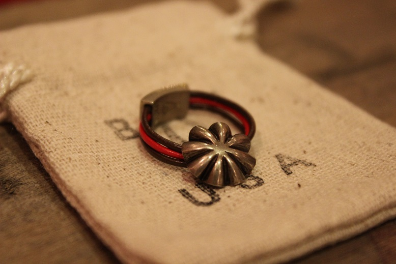 """Button Works \""""NAVAJO CONCHO LEATHER RING & BRACELET\"""" ご紹介_f0191324_10503531.jpg"""