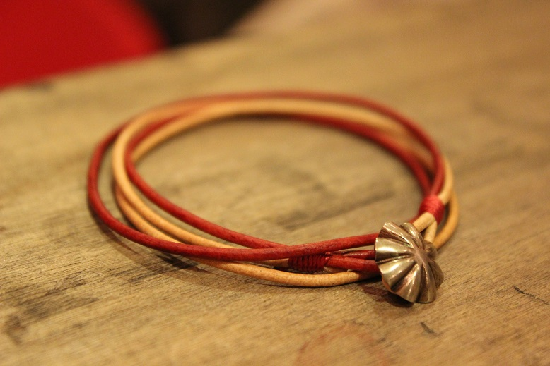 """Button Works \""""NAVAJO CONCHO LEATHER RING & BRACELET\"""" ご紹介_f0191324_10514845.jpg"""
