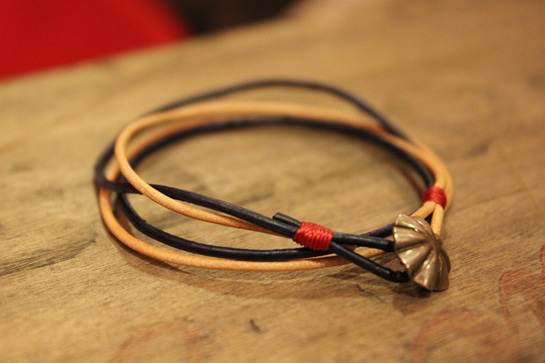"""Button Works \""""NAVAJO CONCHO LEATHER RING & BRACELET\"""" ご紹介_f0191324_10523016.jpg"""