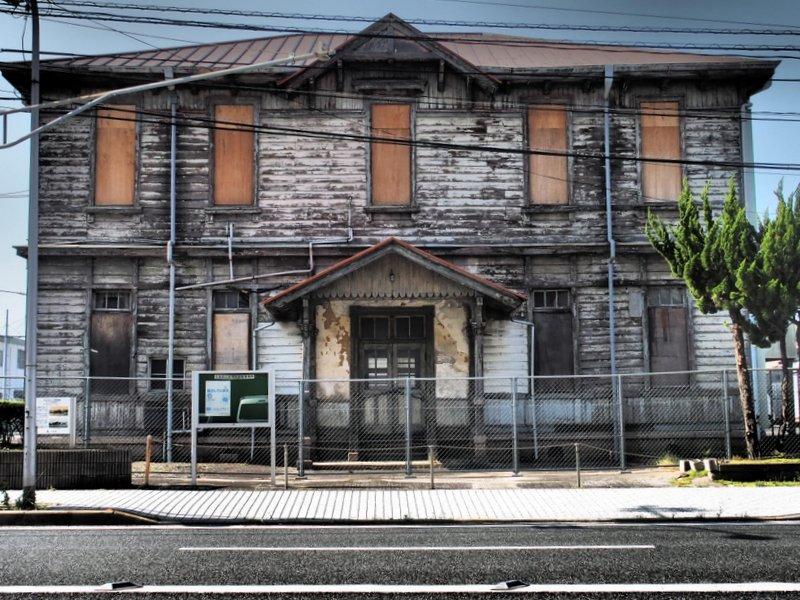 定点観測~旧広島港湾事務所~_b0190540_12204438.jpg