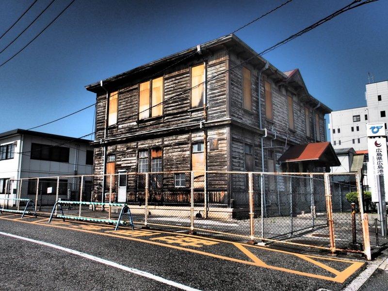定点観測~旧広島港湾事務所~_b0190540_12212624.jpg