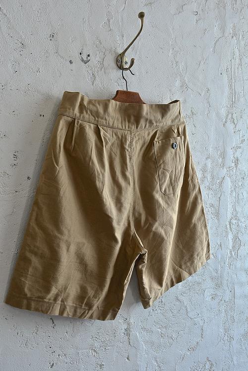 Italian army chino shorts (gurkha shorts)_f0226051_15555431.jpg