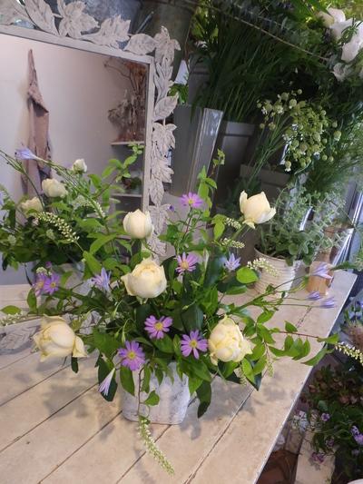 オークリーフ花の教室(石川さんの作品)_f0049672_18165544.jpg