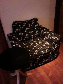 ソファーのカバー変えました。_d0096499_1740031.jpg