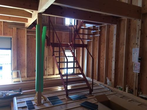 鉄骨階段のできるまで_a0148909_1863955.jpg