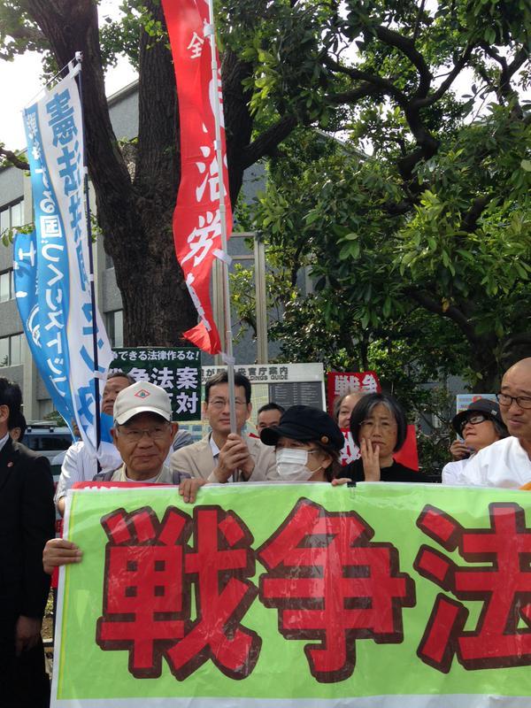 レッドアクション 官邸前抗議 ほか_f0212121_15173742.jpg