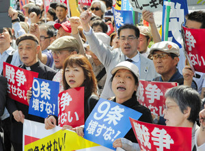 レッドアクション 官邸前抗議 ほか_f0212121_15175246.jpg