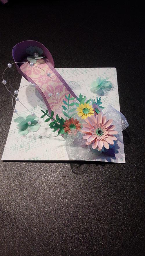 クラフト教室「Blooming ハイヒール」_e0137223_1844439.jpg