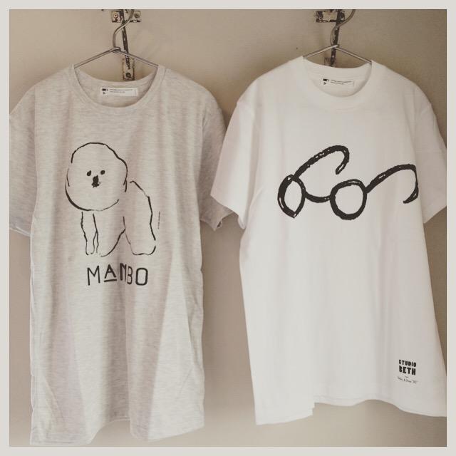 CLASKA Tシャツいろいろ~_a0094534_1235356.jpg