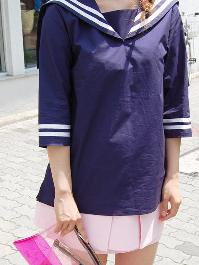 fleamadonnaセーラーtops♥by natsumi_f0053343_1649117.jpg