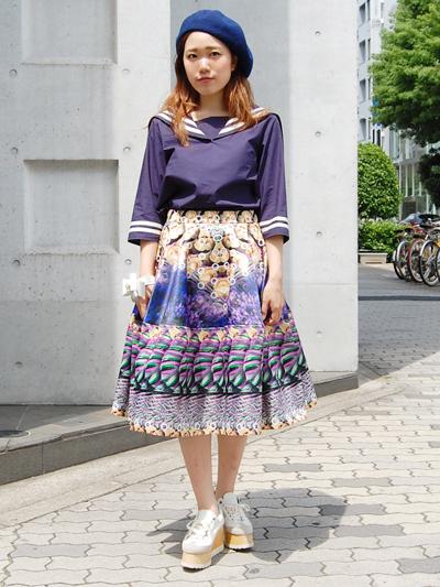 fleamadonnaセーラーtops♥by natsumi_f0053343_16491823.jpg