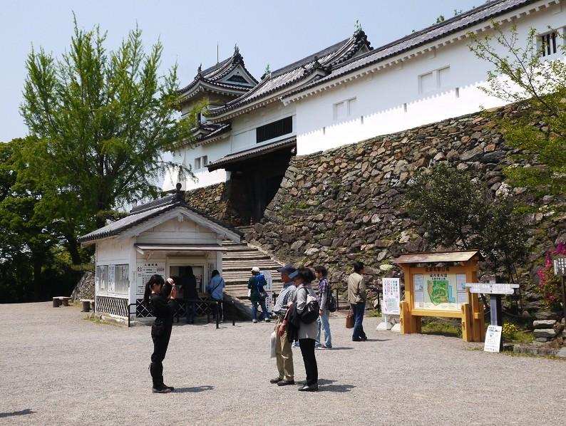 つつじ咲く和歌山城公園_b0093754_194318100.jpg