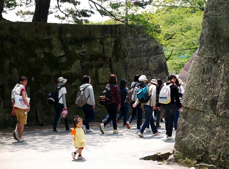 つつじ咲く和歌山城公園_b0093754_19441627.jpg