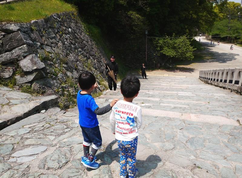 つつじ咲く和歌山城公園_b0093754_19443134.jpg