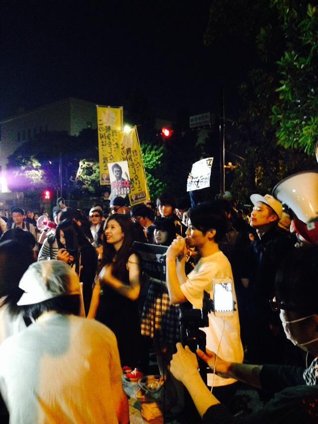 戦争法案・閣議決定反対 5.14 官邸前行動 ほか_f0212121_631174.jpg
