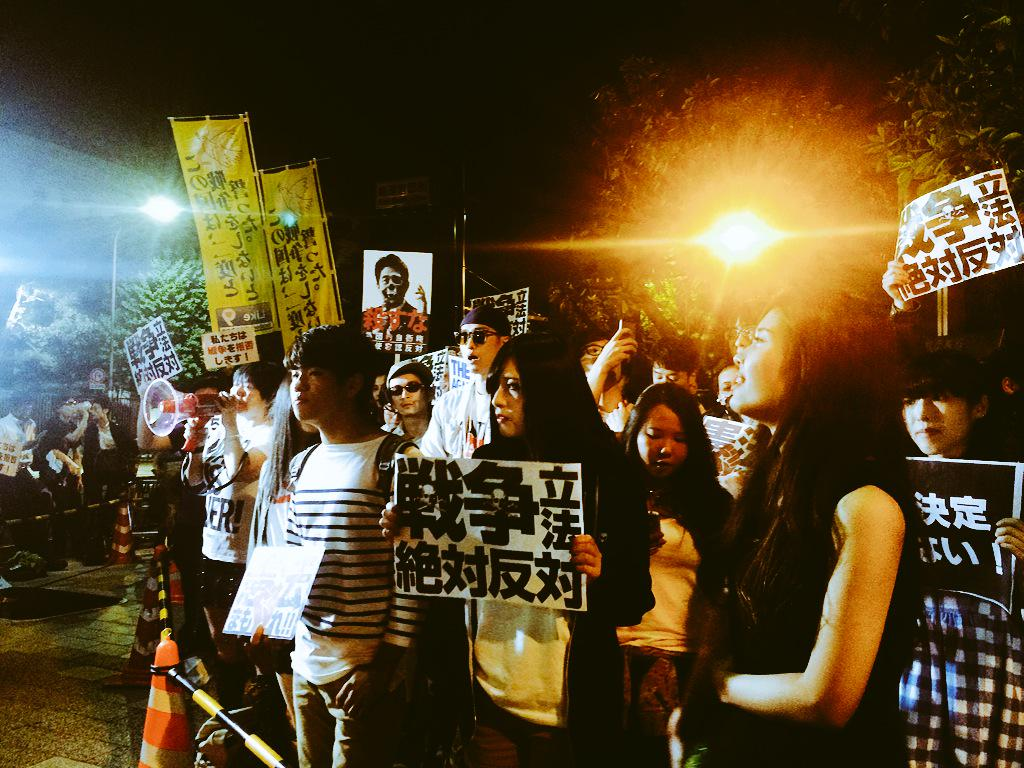 戦争法案・閣議決定反対 5.14 官邸前行動 ほか_f0212121_64297.jpg