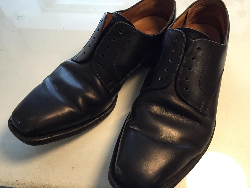 革靴 かかと内側破れ修理_b0178425_1914137.jpg