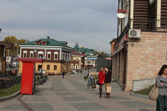 イルクーツクの旧市街_a0109837_10141872.jpg