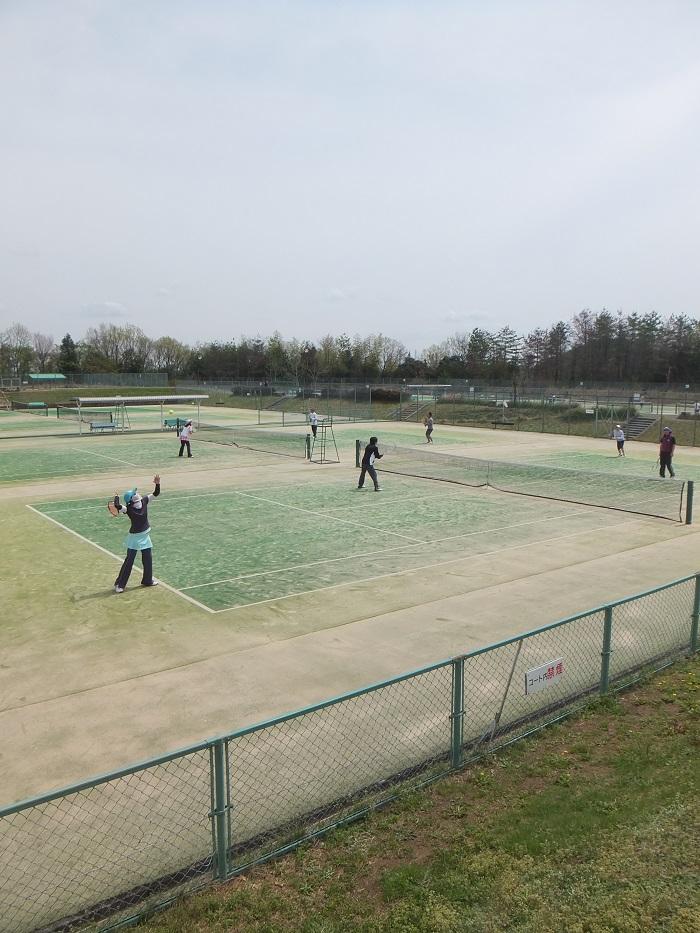 ◆テニス春合宿 ~普段の行いは天気に現れる?の巻~_f0238779_675670.jpg