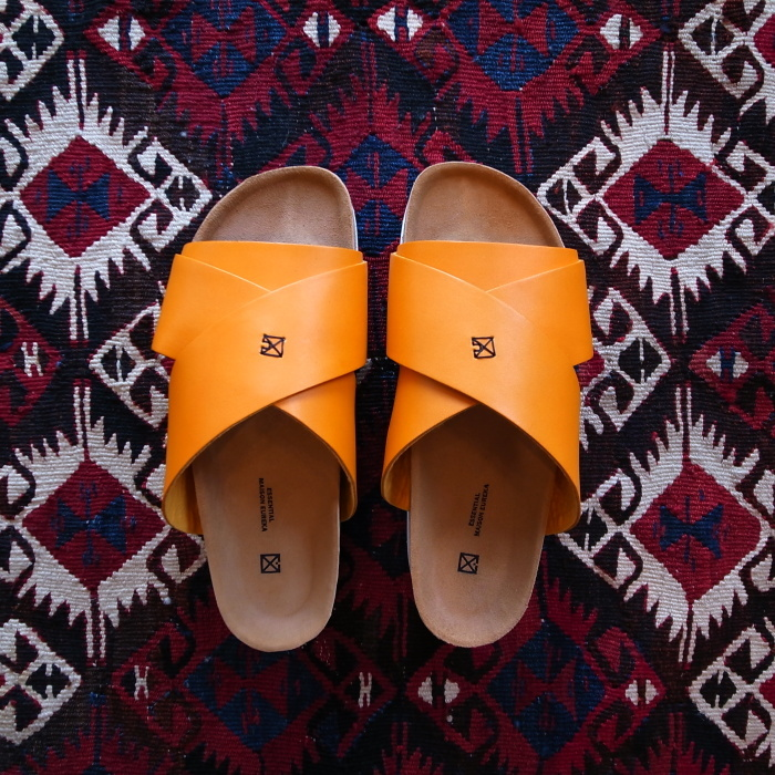 MAISON EUREKA CROSS OVER SANDAL ORANGE_f0111683_13280064.jpg