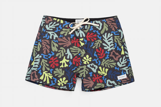 SATURDAYS SURF NYC BOARD SHORTS CORAL PRINT_f0111683_17522195.jpg