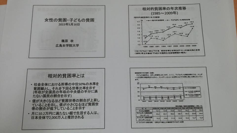 広島市男女共同参画審議会篠原収会長_e0094315_16181135.jpg
