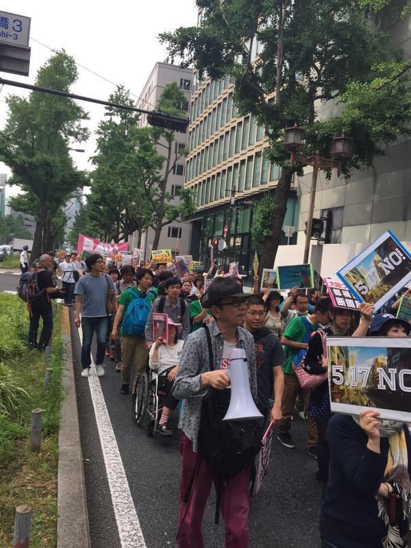 「つぶせ都構想!」大阪サウンドデモに600人_f0212121_1813997.jpg