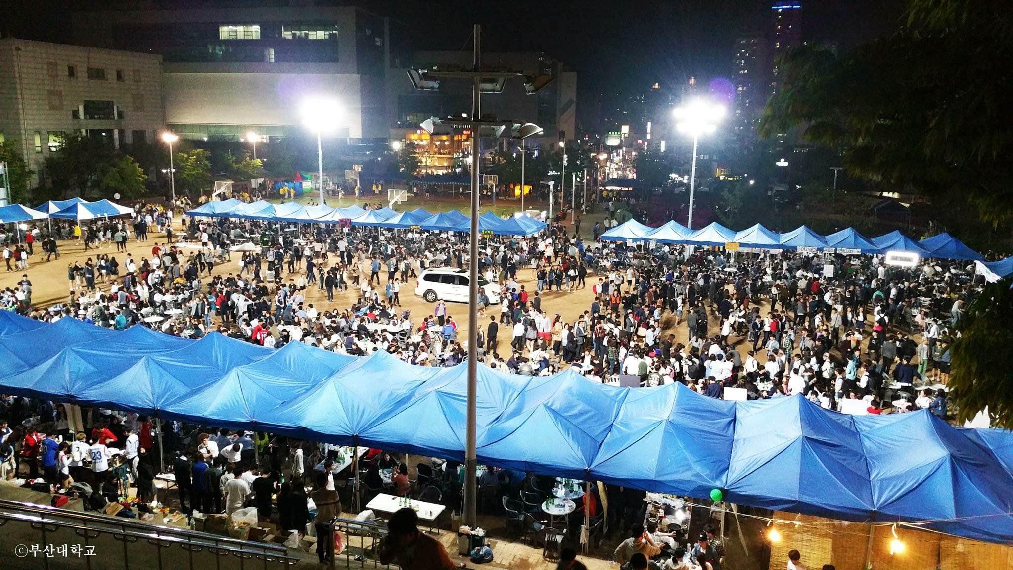 2015釜山大学の学祭 : 新YPU『韓...