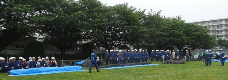 小平市総合水防演習_f0059673_19332992.jpg
