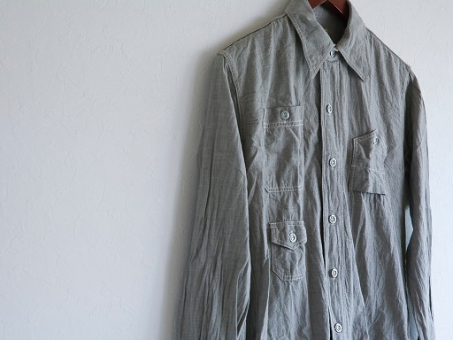 WORK SHIRT WITH CHINSTRAP_d0160378_19354630.jpg