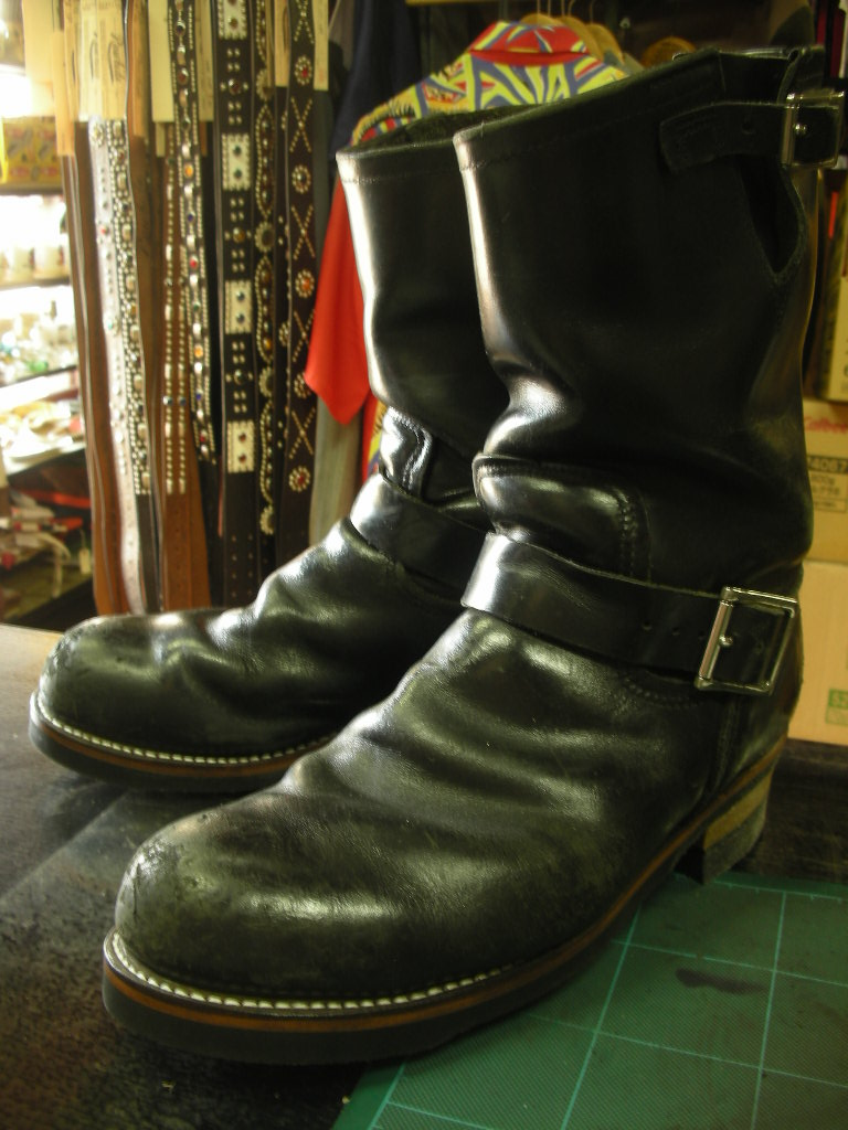 RAWHIDE Studded work for Red Wing 2268_c0187684_14224018.jpg
