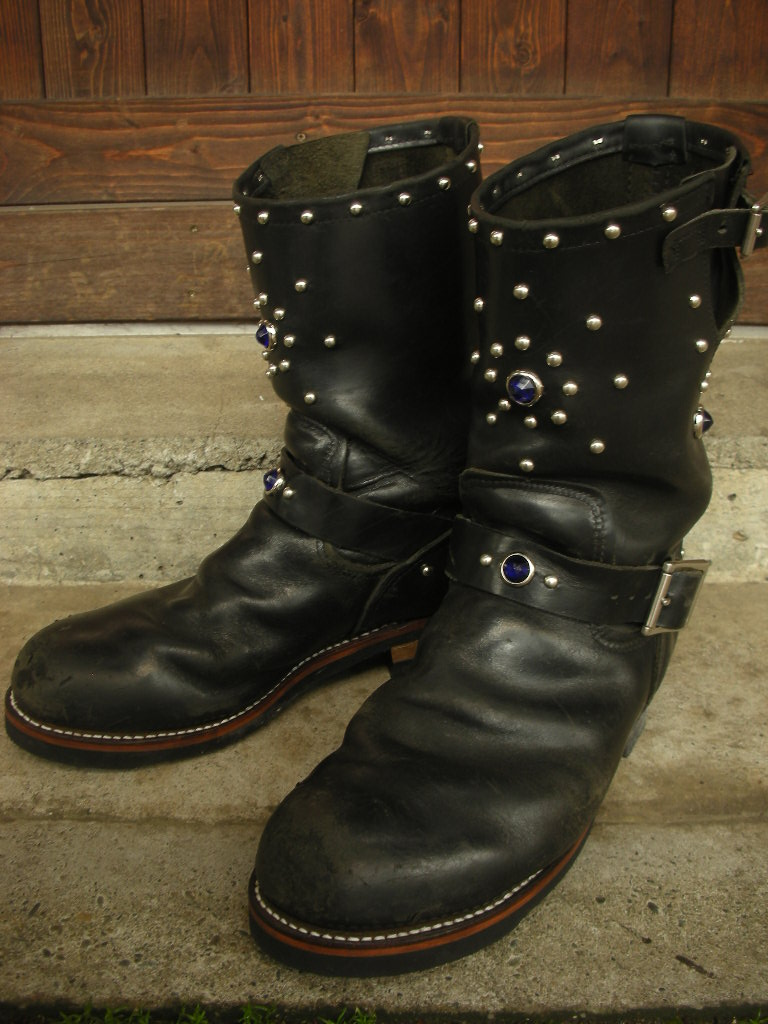 RAWHIDE Studded work for Red Wing 2268_c0187684_14234258.jpg