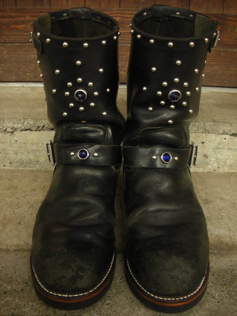 RAWHIDE Studded work for Red Wing 2268_c0187684_14242337.jpg