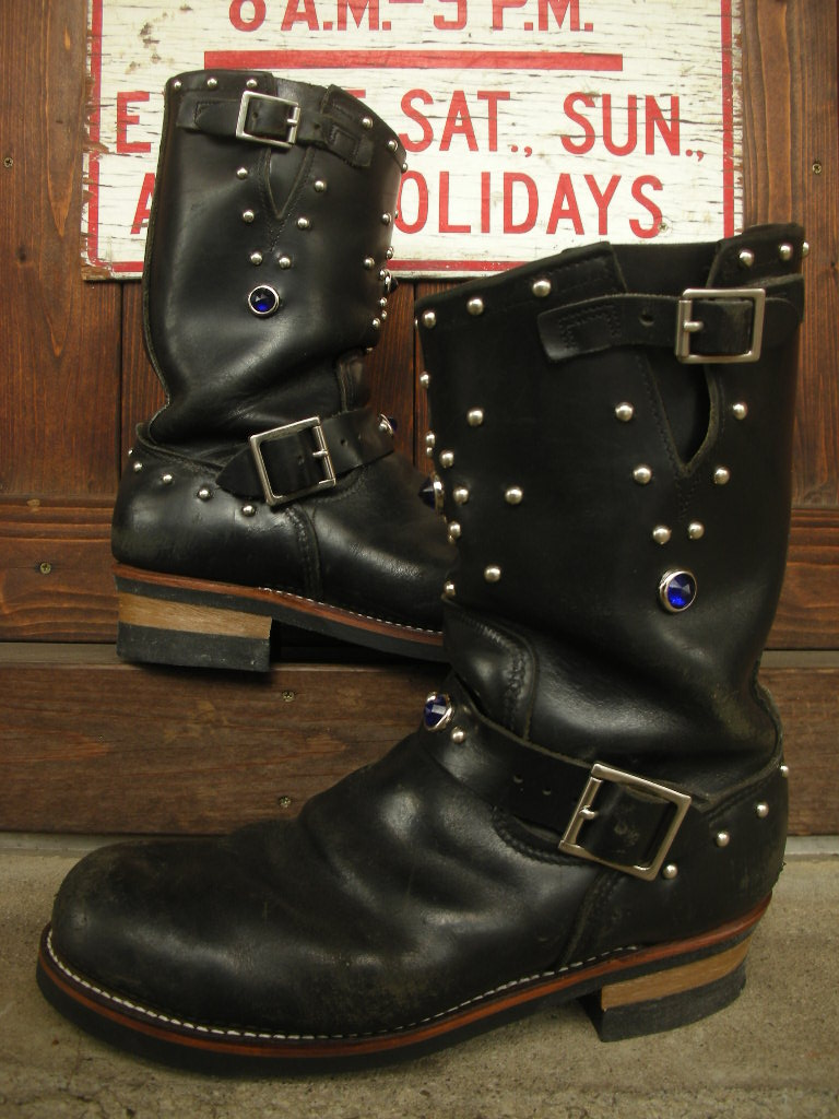 RAWHIDE Studded work for Red Wing 2268_c0187684_14243633.jpg