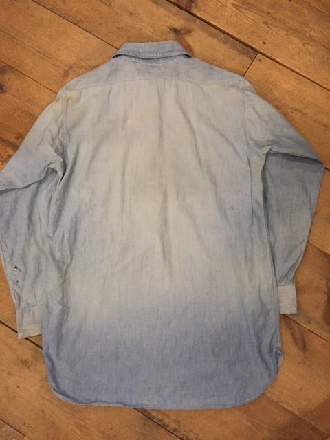 雰囲気系シャンブレーシャツ_d0121303_16333791.jpg