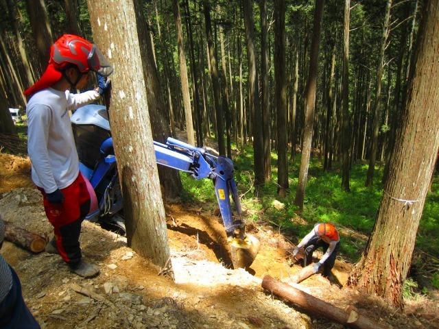 地域おこし協力隊、清光林業で研修中_e0002820_10042731.jpg