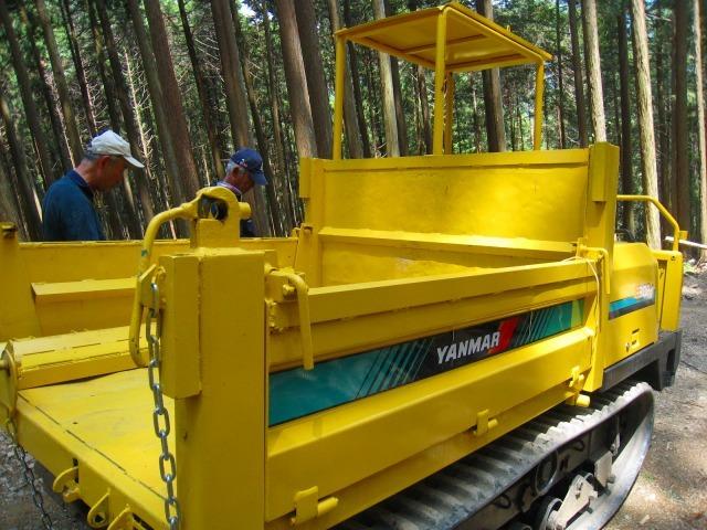 地域おこし協力隊、清光林業で研修中_e0002820_10042774.jpg