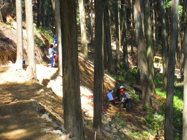 地域おこし協力隊、清光林業で研修中_e0002820_10042798.jpg