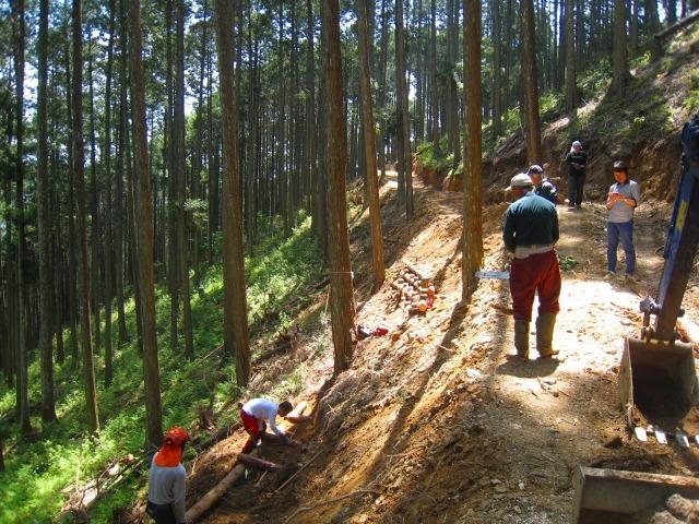 地域おこし協力隊、清光林業で研修中_e0002820_10044817.jpg