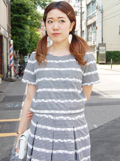 fleamadonna ギンガムsetup♡by natsumi_f0053343_16101038.jpg