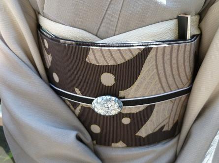 お能の会、皆様の帯周り・立体的刺繍帯コーディネイト。_f0181251_11303675.jpg